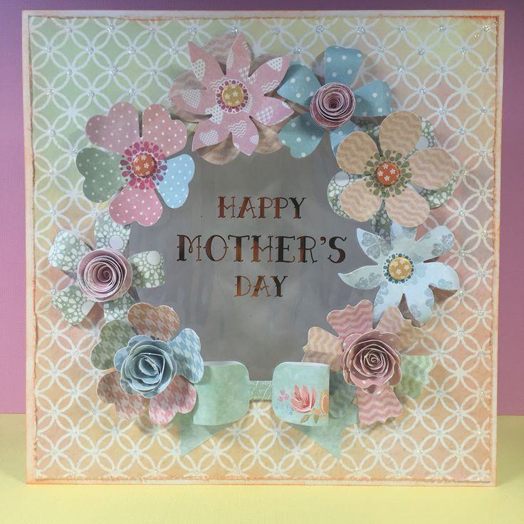 Happy Mother's Day #craftworkcards #heidiswappminc