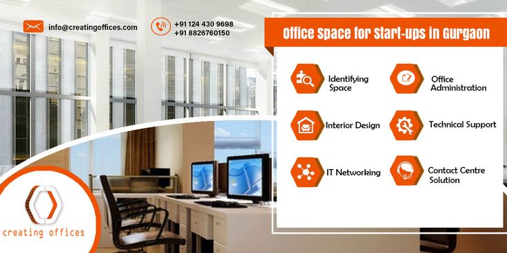 #OfficeSpaceForStartups:-   Innovative solutions by #CreatingOffices, a perfect space for startups. Whether you need a co-working space, an office which absorbs 1 to 100 people or just space for a conference or meeting; we offer everything.!!