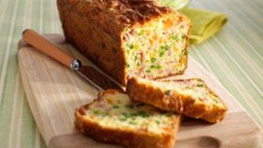 Börek Tadında Sebzeli Kek Tarifi