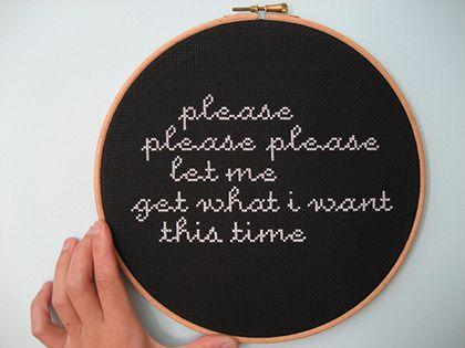 let me, let me, let me...