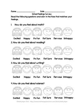 surveys for children interest inventories learning style surveys and attitude 4167