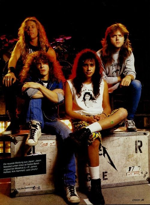 Old School Metallica  - this is how I remember Metallica.  These #mainstreamallica (I am not swiping at Metallica just criticizing their current era fans because they don't read books or do something literate.  My roster are old school era or understand the old school era.)