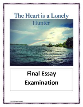 heart is a lonely hunter essay Peter singer essays:  heart is a lonely hunter essay even though john singer is deaf, he can still read lips however, singer must do so in a very attentive way.