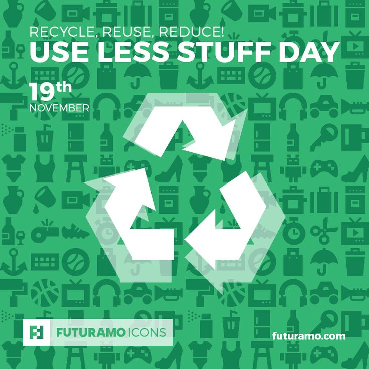 Recycle, reuse, reduce! Use Less Stuff Day! All #icons used in the series are available in our App. Imagine what YOU could create with them! Check out our FUTURAMO ICONS – a perfect tool for designers & developers on futuramo.com #icondesign  #icons  #iconsystem  #pixel #pixelperfect  #flatdesign  #ux  #ui  #uidesign  #design #developer  #webdesign  #app  #appdesign #graphicdesign