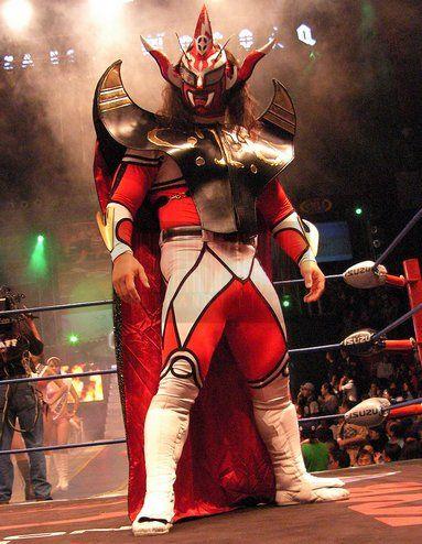 """The legendary Jushin """"Thunder"""" Liger. #luchalibre #prowrestling #cmll #njpw"""