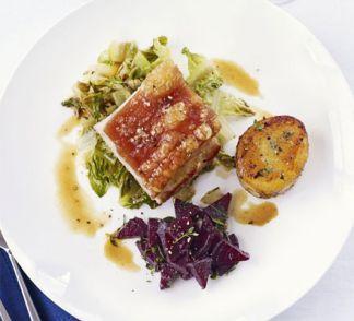 Slow-roast belly of pork