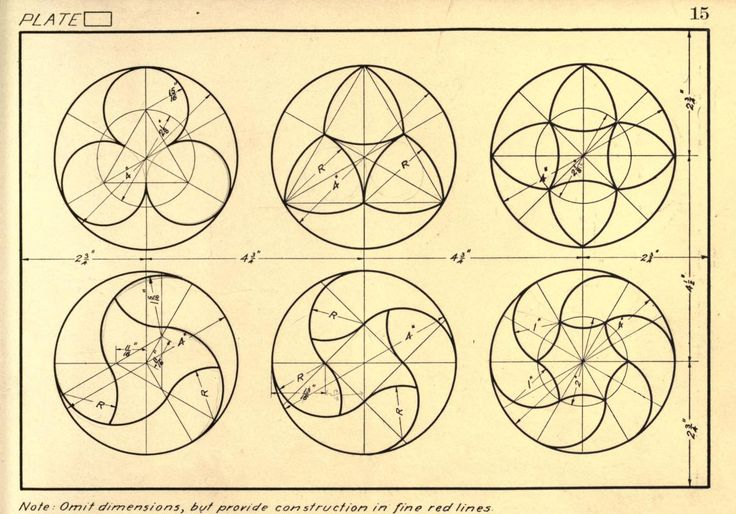 Geometrical drawing; a collection of plates for mechanical drawing, by F. Schraidt, MA, 1915