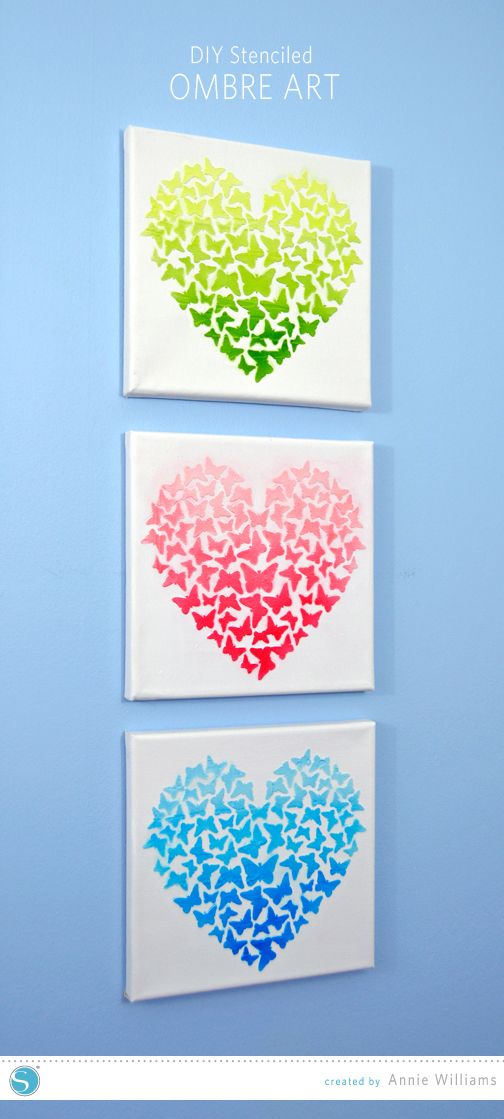 Ombre-Heart-Art-by-Annie-Williams