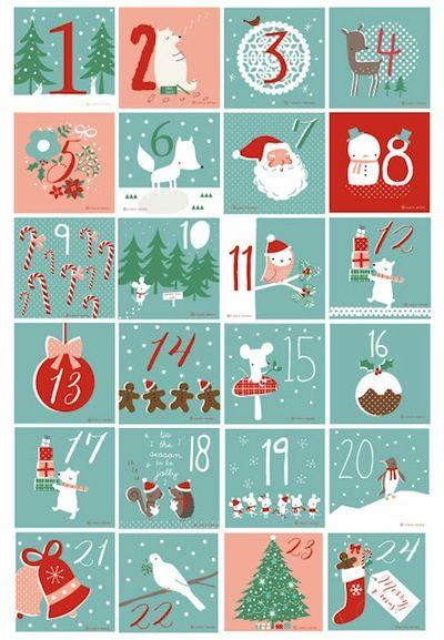 Best Homemade Advent Calendars | http://www.finecraftguild.com/best-homemade-advent-calendars/