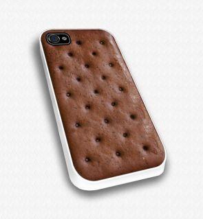 Ice cream sandwich iPhone case   iCase Sera Sera -- Yum!