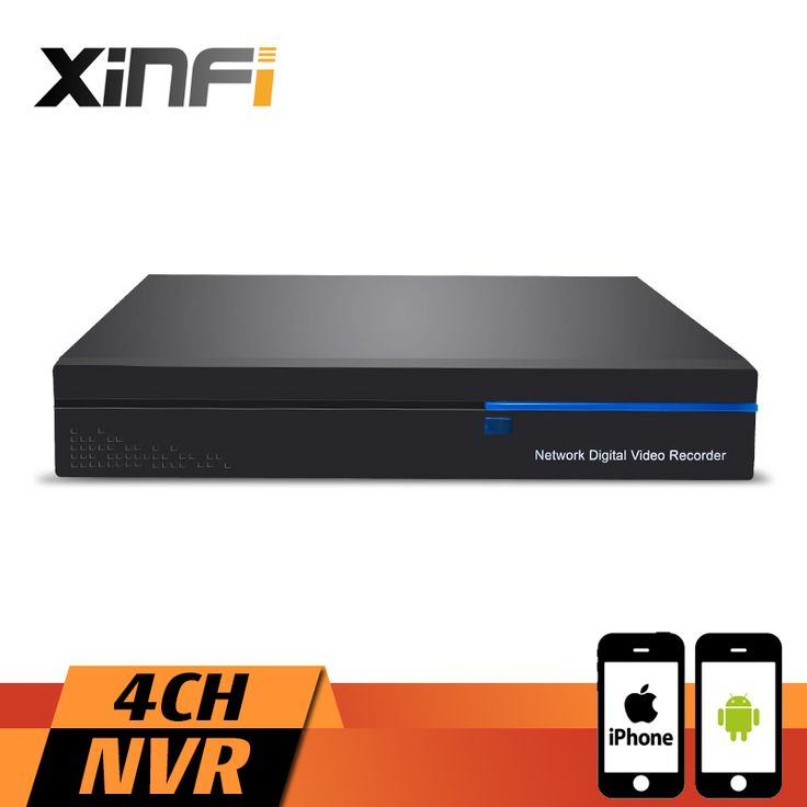 XINFI 4CH 1080P Full HD NVR ONVIF 2.0 For IP network Camera System 4 Channel Security CCTV Recorder HDMI Camera System #Affiliate