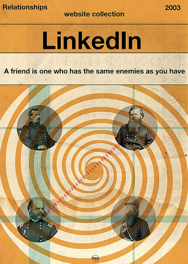 LinkedInDesign Inspiration, Vintage Posters, Social Network, Social Media, Graphics Design, Make Money Online, Book Covers, Socialmedia, Retro Vintage