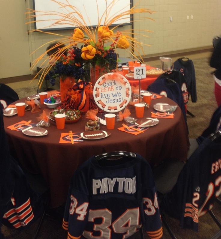 Birthday Celebration Chicago Style: Chicago Bears Theme