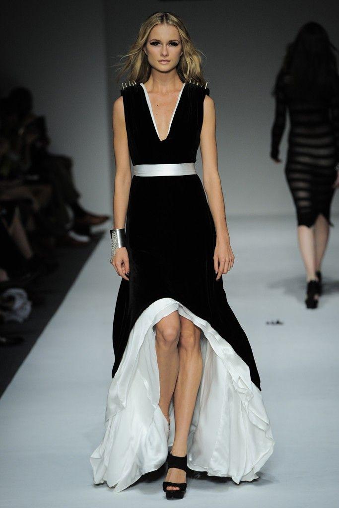 Mumita S Mode Monochrome Fashion In New York Fashion Week 2013