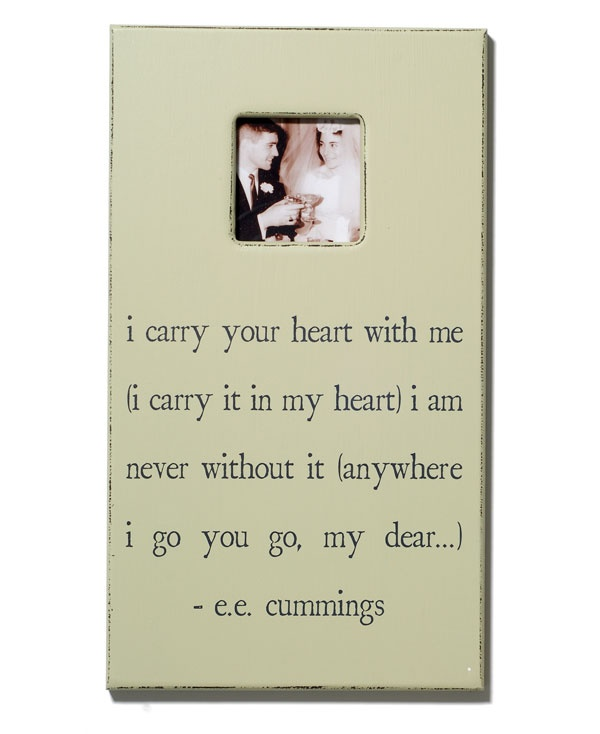 27 best Wedding Framed Quotes images on Pinterest | The words ...