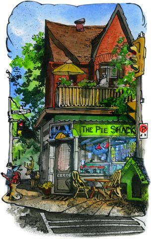 David Crighton - Pie Shack | Chillwall.com | Toronto