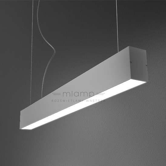 Lampa wisząca SET TRU LED suspended 54549EV-kolor Aquaform metalowa OPRAWA LED 22,8W WW zwis prostokątny belka