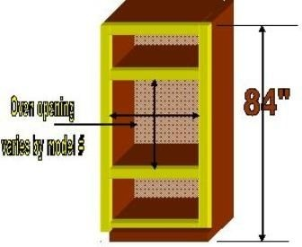 how to build a wall oven cabinet ovens cabinets and