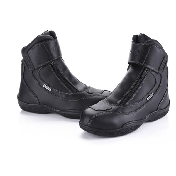 Men's Motorcycle Riding Off Road Racing Leather Boots For Arcx