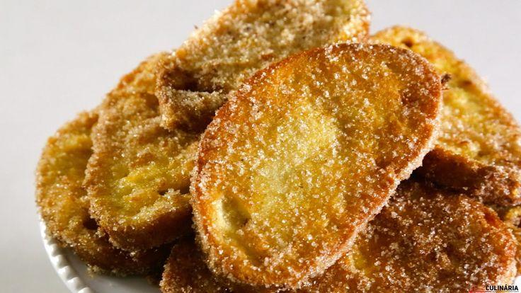 Receita de Fatias douradas. Descubra como cozinhar Fatias douradas de maneira prática e deliciosa!