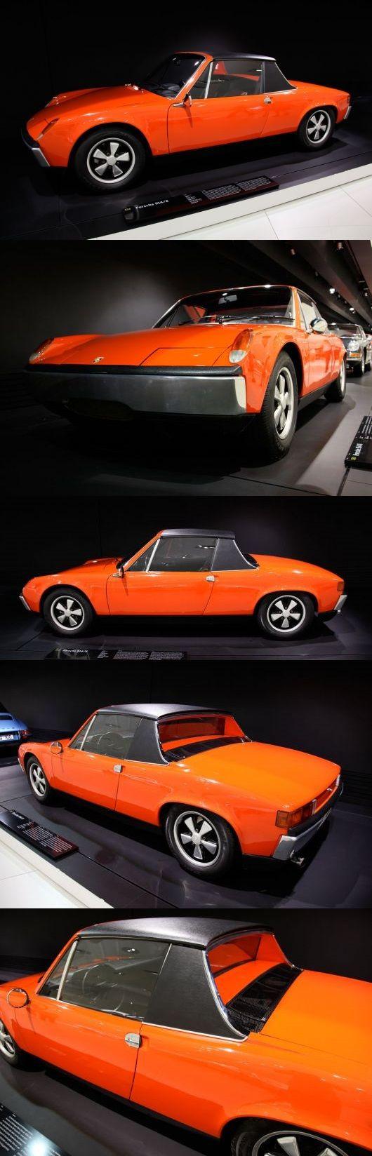 1969 Porsche 914-8.