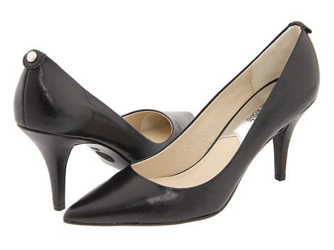 MICHAEL Michael Kors MK Flex Mid Pump Black - Zappos.com Free Shipping BOTH Ways