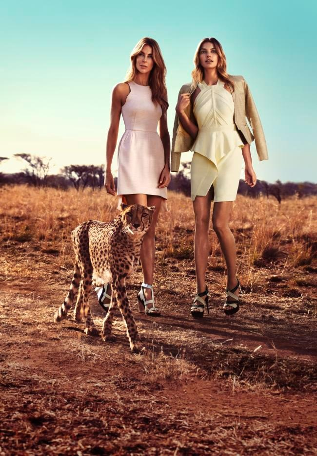 love the new MYER campaign shot in South Africa!