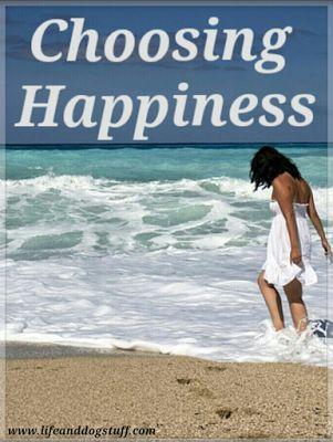 Choosing Happiness at Life and Dog stuff blog!