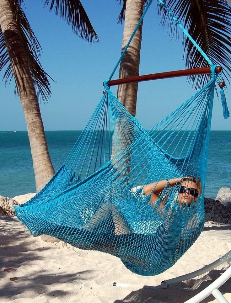 Caribbean Jumbo Hammock Chair. BalkonHängematte ...