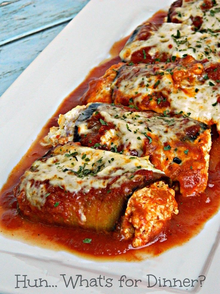 Hun... What's for Dinner?: Eggplant Rollatini