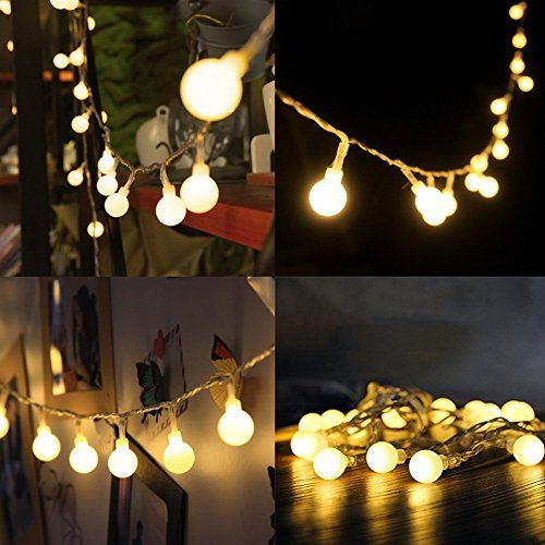 Restoration Hardware Party Globe Light String: 1000+ Ideas About Battery Operated String Lights On