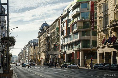 Rákoczi út, Budapest / Hungary