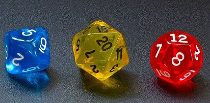 RPG Dice Earrings | 29 Geek DIY's To Make Right Now