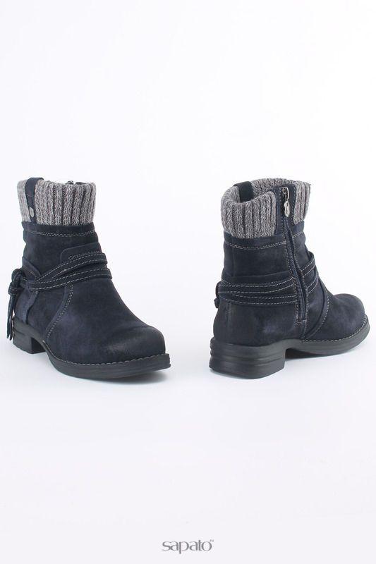 Купить синие ботинки Ботинки в интернет-магазине Sapato