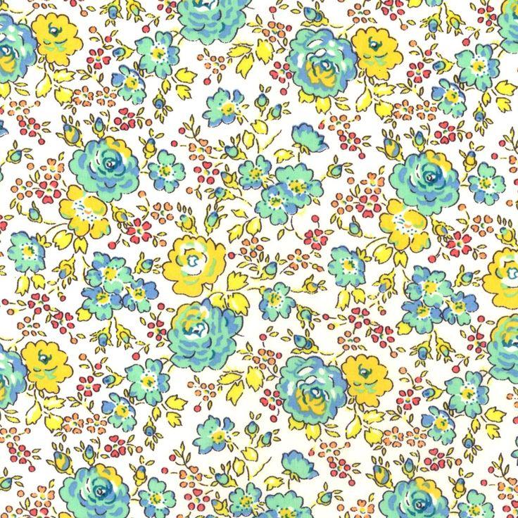 Felicite turquoise - Liberty fabric