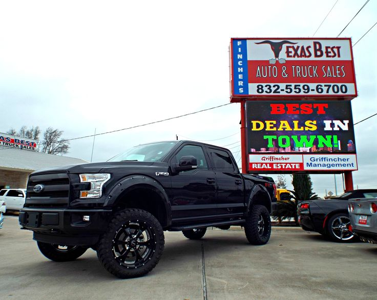 Lifted Trucks For Sale In Texas >> Pin by Fincher's Texas Best Auto & Truck Sales - Tomball on TRUCKS | Pinterest | Ford f150 ...