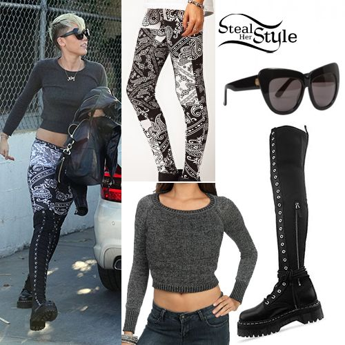 Steal Her Style: Miley Cyrus' Clothes & Outfits