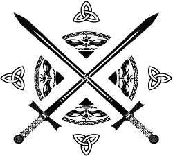 Celtic crossed swords tattoo thoughts pinterest for Crossed swords tattoo