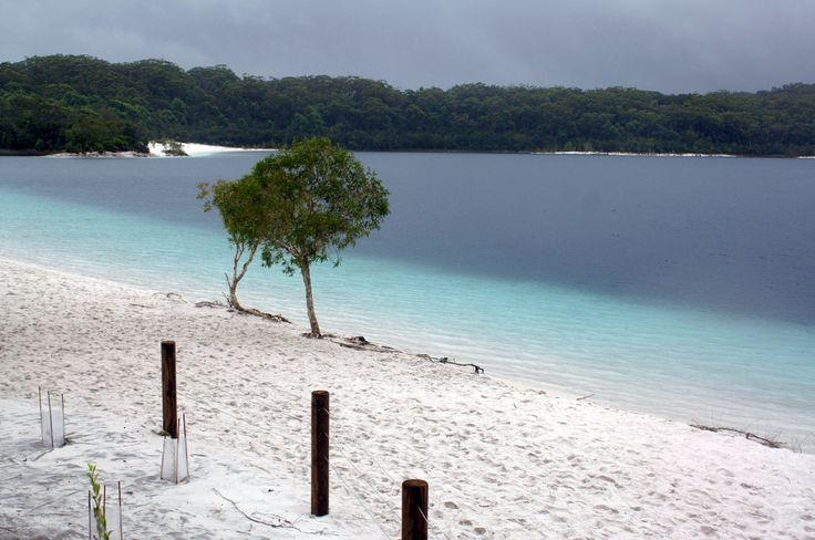Lake McKenzie on Fraser Island, Australia FraserIsland