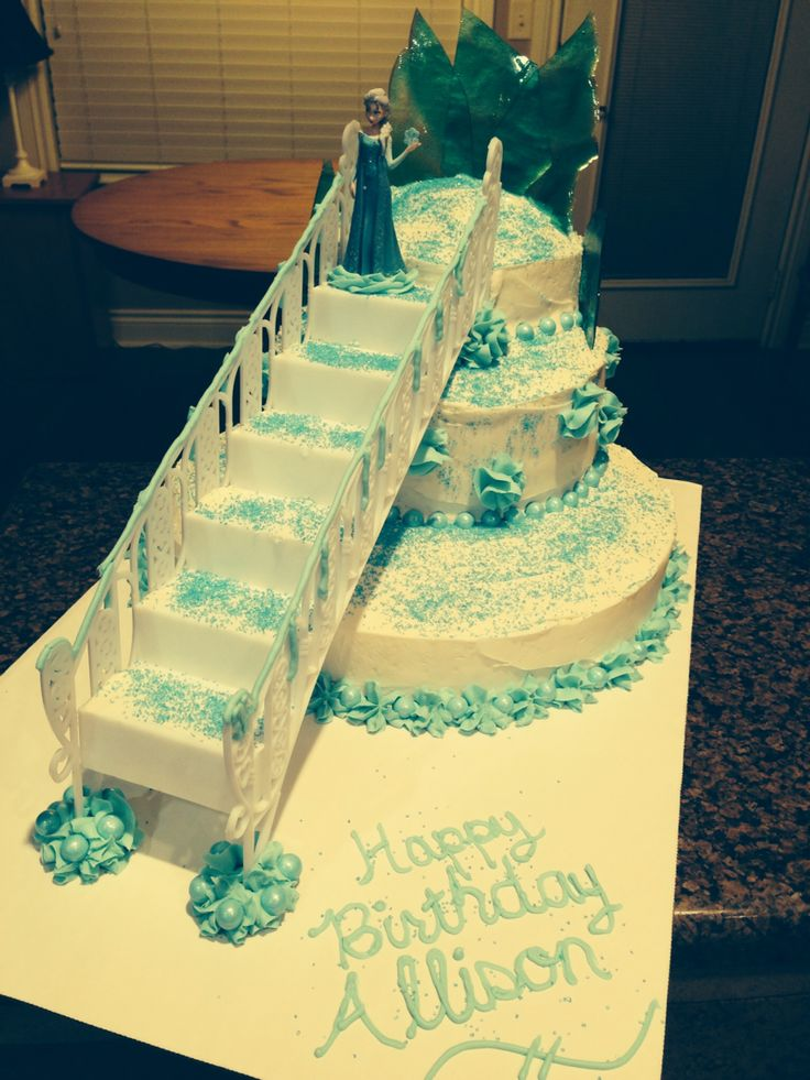 Image Result For Happy Birthday Frozen Cake