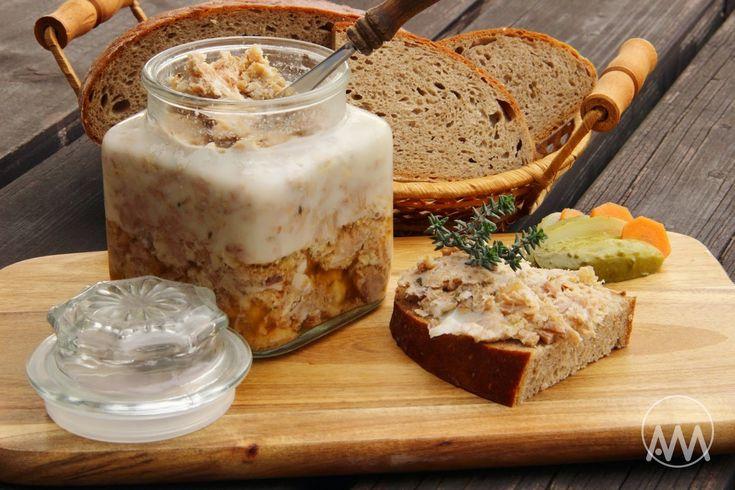 V kuchyni vždy otevřeno ...: Rillettes s tymiánem a česnekem