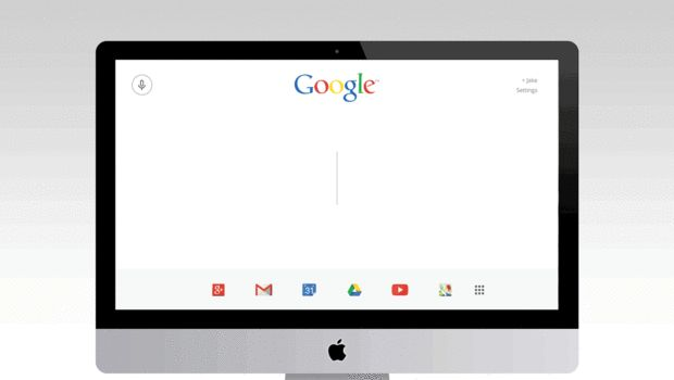 A Bold Google Homepage For The Modern Era