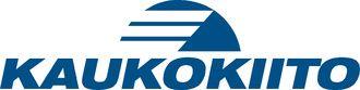 Kaukokiito logo. Finnish transportation company.