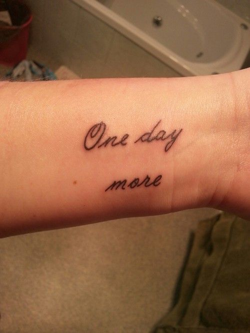 there are waaay too many theatre-related tattoos that I want