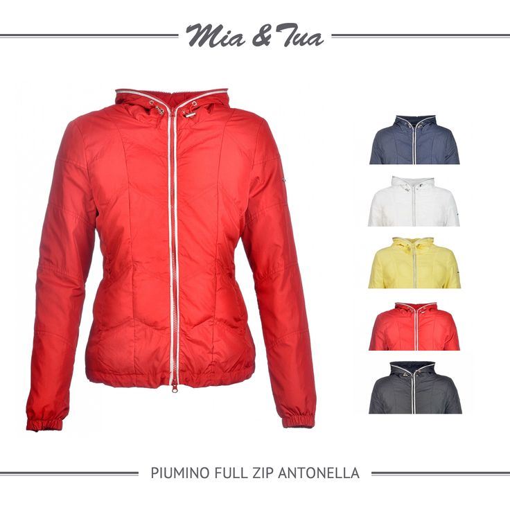 Enjoy with the summer's colors! #fashion #style #womanstyle #jacket #downjacket