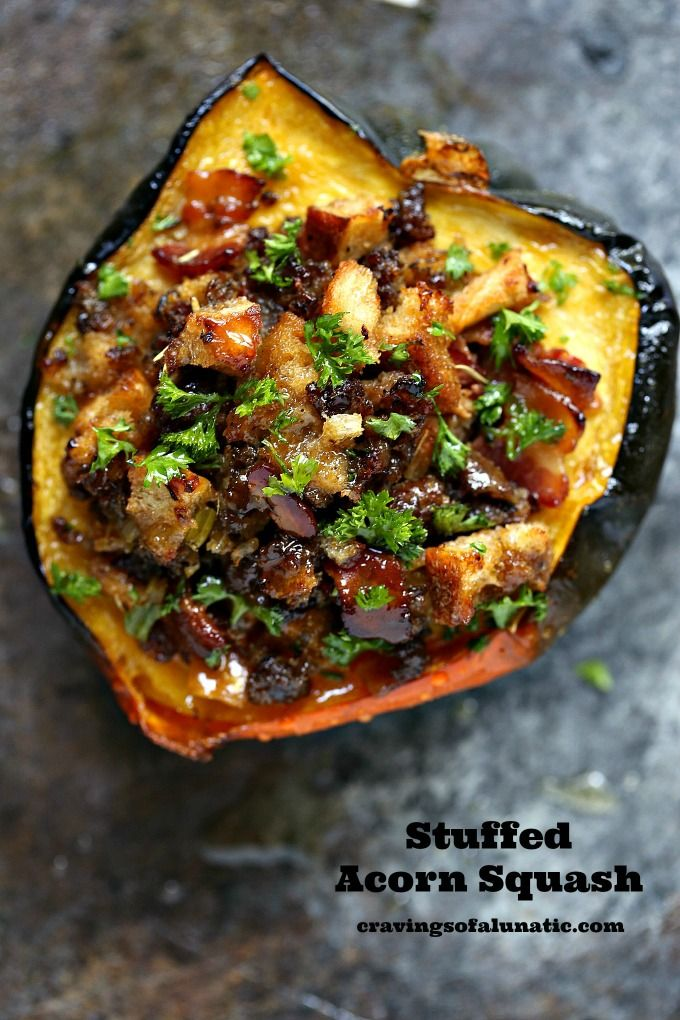 Ad Stuffed Acorn Squash Is Perfect For Holiday Entertaining I