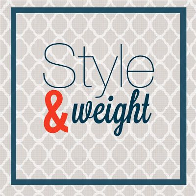 Calculating Blessings: 31 Days of Goodwill Style - Day 10 - Style and Weight