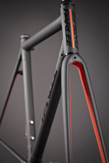 ♂ Orange and grey bicycle details Custom Z1 by parleecycles