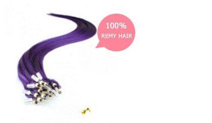 Beatify yourself by applying Micro Loop Human Hair Extensions