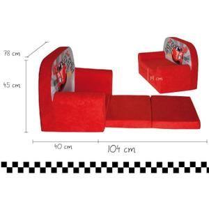 Mini-canapé lit enfant Racing - Achat / Vente fauteuil - canapé bébé 2009817832994 - Soldes* dès le 10 janvier Cdiscount